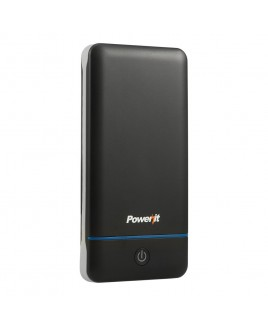 Power it 10,200mAh Portable Charger with Daul USB Output - Black