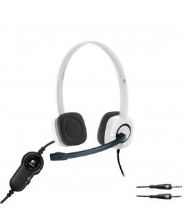 Logitech H150 Stereo Headset (White)