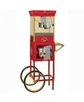 Nostalgia Vintage Collection Dispensing Popcorn Cart