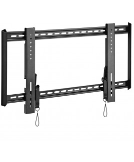 OmniMount Ultra Low Profile Fixed Wall Mount fits 37-63 Inch Flat Panels, Black