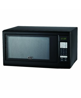 Oster 1.1 Cu. Ft. 1000-Watts Digital Microwave Oven, Black