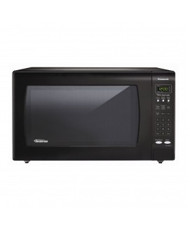 Panasonic 2.2 Cubic Foot Microwave with Inverter Technology, Black