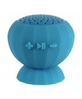 Digital Treasures Lyrix JIVE - Water Resistant Bluetooth Speaker, Blue