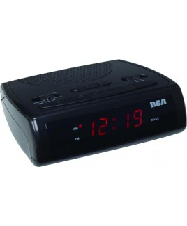 RCA RC100 Single Wake AM/FM Clock Radio