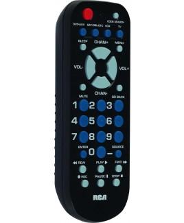 RCA RCR504BR 4-Device Palm-Size Universal Remote
