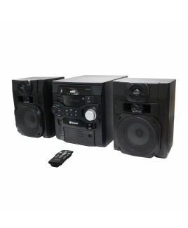 RCA 5-CD 300W Audio Shelf System with Bluetooth and USB