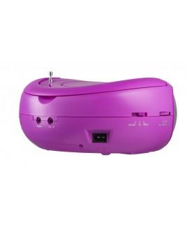 Riptunes Riptunes AM/FM CD Boombox - Pink
