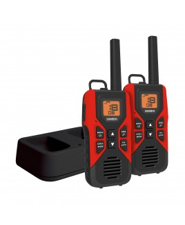 Uniden 30-Mile GMRS/FRS 2-Way Radio 22 Channel, 121 Privacy Codes NOAA Weather Alert with Charging Kit