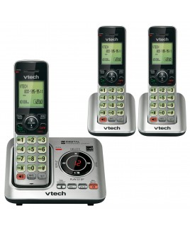 Vtech DECT6.0 3-Handset Caller ID Cordless Speakerphone with Digital Answerer