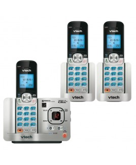 Vtech 3-Handset Connect to Cell Bluetooth Answering System with Caller ID/Call Waiting