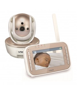 Vtech Vtech Safe&Sound Expandable Digital Video Baby Monitor with Pan & Tilt Camera and Automatic Night Vision