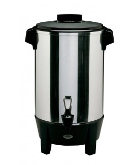 WestBand 58030 30-Cup Polished Aluminum Urn