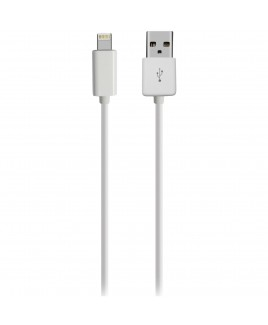 Xtreme 6ft 8-Pin Sync & Charge Cable for iPhone 5/iPad Mini, White