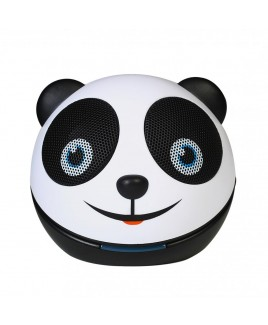 Zoo-Tunes Compact Portable Bluetooth Stereo Speaker, Panda
