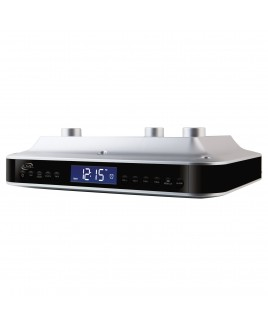 iLive Wireless Bluetooth Under Cabinet Music System with FM Radio, AUX-in