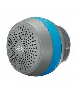 iLive Water Resistant Bluetooth Shower Speaker
