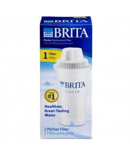 Brita 35501 Pitcher Replacement Filter, Single Pack