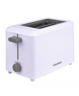 Courant Cool Touch 2-Slice Toaster, White