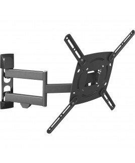 Barkan 4 Movement - Rotate, Swivel, Tilt & Fold Wall Mount Fits LED, LCD, Plasmas up to 56-Inches