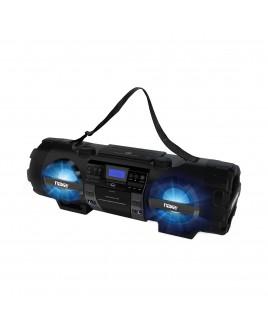 Naxa MP3/CD Bass Reflex Boombox & PA System with Bluetooth