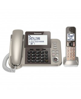 Panasonic Corded/Cordless Phone with Talking Caller ID and Answering Machine
