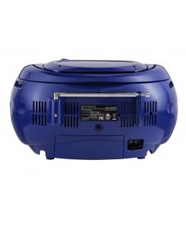 Riptunes Bluetooth AM/FM CD BoomBox - Blue