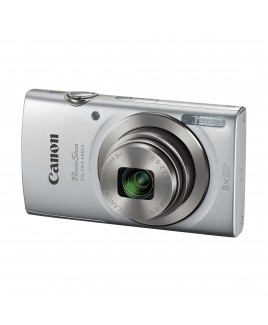 Canon PowerShot ELPH 180 20.0 Megapixel Digital Camera, 8x Optical Zoom, 720p HD video, 2.7in LCD, Silver