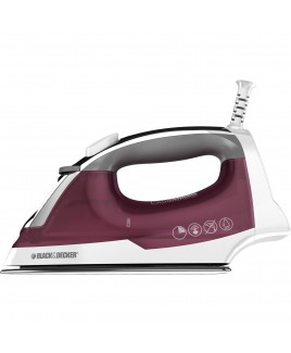 Black & Decker Easy Steam Iron with Stainless Steel Soleplate and Automatic Shut-Off