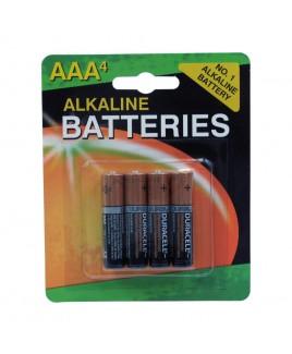 Duracell Alkaline AAA Batteries 4-Pack Repacked