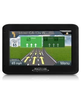 Magellan RoadMate 2520 4.3 inch Touch Screen Portable GPS with Free Lifetime Map Updates