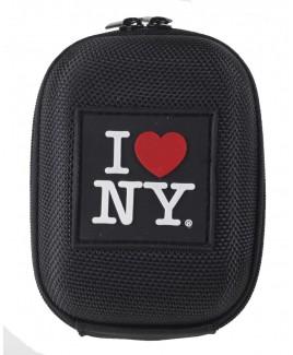 I Love NY DCS45 Hard Compact Camera Case Black