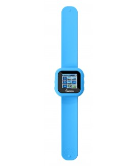 IMPECCA MPW1540 4GB MP3 and Video Player Slap Watch - Blue