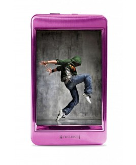 Riptunes MP2128P 8GB 2.8-inch Touch Screen MP3 and Video Player - Pink