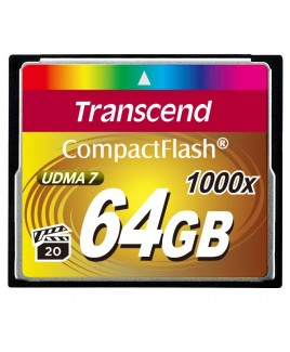 Transcend Compact Flash 64GB UDMA7 1000x High-speed Memory Card
