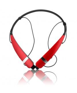 LG Electronics TONE PRO Bluetooth Wireless Stereo Headset, Red