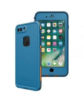 LIFEPROOF FRĒ for iPhone 7+ Waterproof, Dirtproof, Snowproof, and Dropproof Case, Base Camp Blue