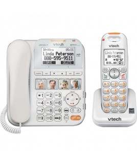 Vtech CareLine Corded/Cordless Answering System with Big Buttons and Display