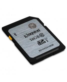 Kingston SDHC 16GB UHS-I Memory Card (Class 10)