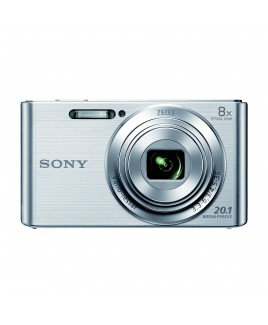 Sony 20.1MP Digital Camera with 8x Optical Zoom and 2.7-inch LCD, Silver