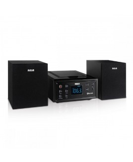 RCA Bluetooth Micro Home Music System with CD and FM Radio
