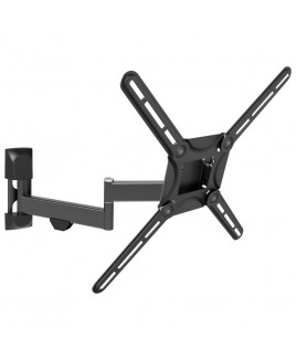 Barkan 29-56 inch 4 Movement Fold, Rotate, Swivel & Tilt Flat / Curved TV Wall Mount