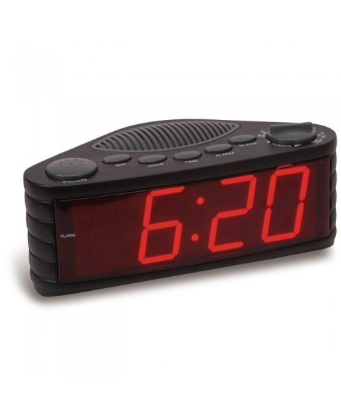 Sylvania SCR1206 AM/FM Clock Radio