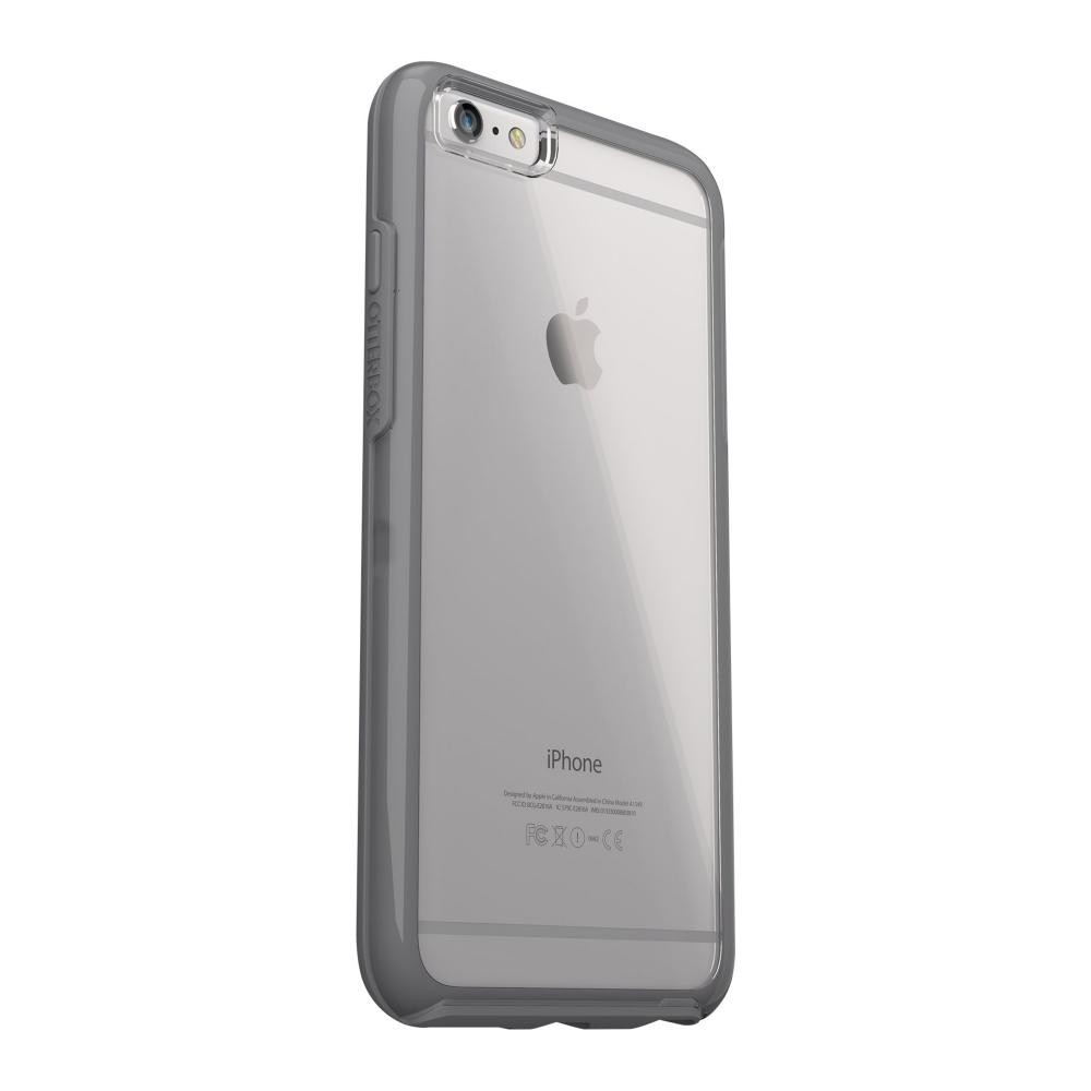 aa44a130e5 Otterbox iPhone 6 Plus/6s Plus Symmetry Series Clear Case, Grey ...