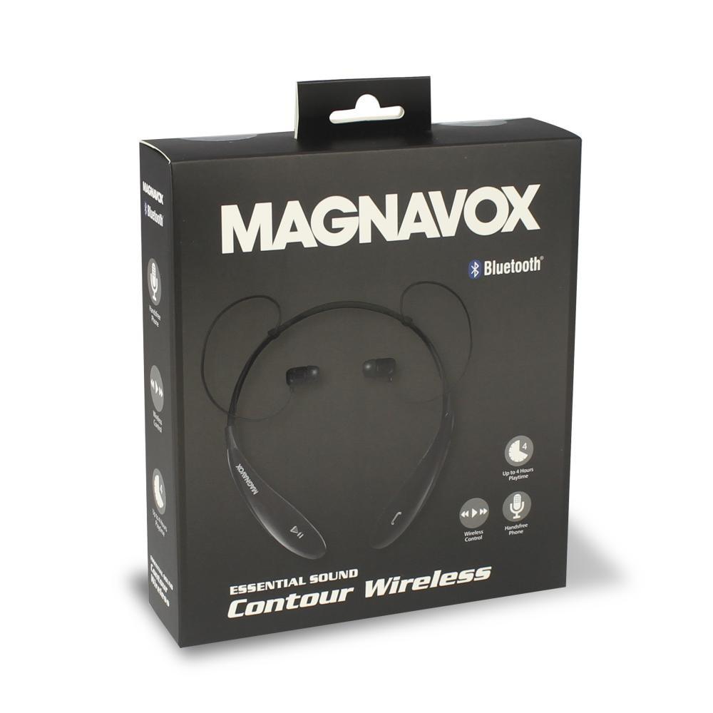 8a12c5ab772 Magnavox Bluetooth Wireless Stereo Headset, Black