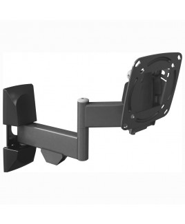 Barkan 4 Movement - Rotate, Fold, Swivel & Tilt, LED/LCD Wall Mount - Fits up to 26-inch LCDs