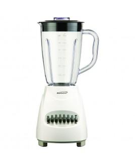 Brentwood 12 Speed Blender Plastic Jar - White