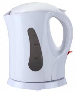 Brentwood 1.0 Liter Cordless Plastic Water Kettle - White