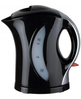Brentwood 1.7 Liter Cordless Plastic Water Kettle - Black