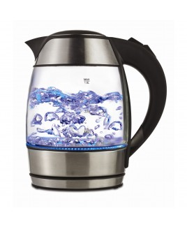 Brentwood 1.8L (60oz) Glass Kettle with Tea Infuser