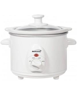 Brentwood SC-115W 1.5 Quart Slow Cooker